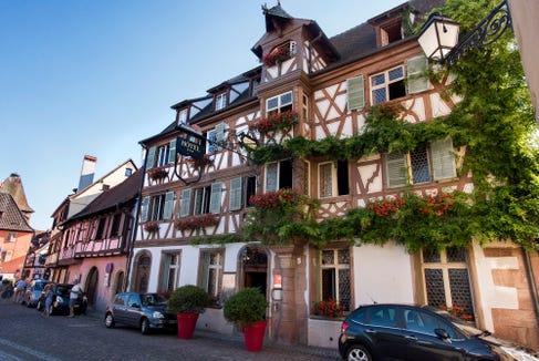 Hotel les 2 Clefs in Turckheim.