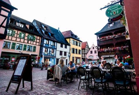 Dining in Turckheim