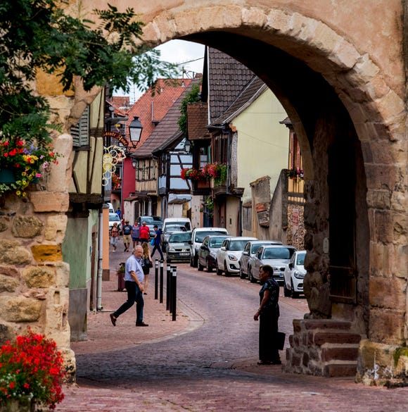 The Munster Gate into Turckheim.