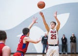 Luke Brown led Blackford to a 55-40 victory over Jay County.