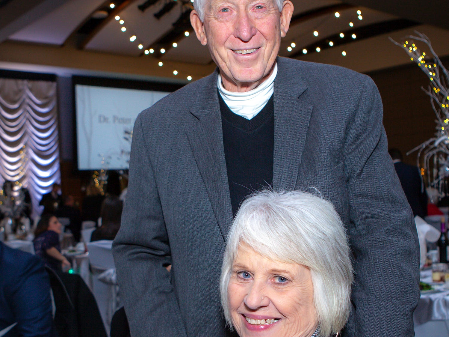 Cliff and Jane Sharp at the 2019 Excellence in Education Gala, hosted by the City Schools Foundation on Friday, Jan. 25, 2019 at Stones River Country Club in Murfreesboro