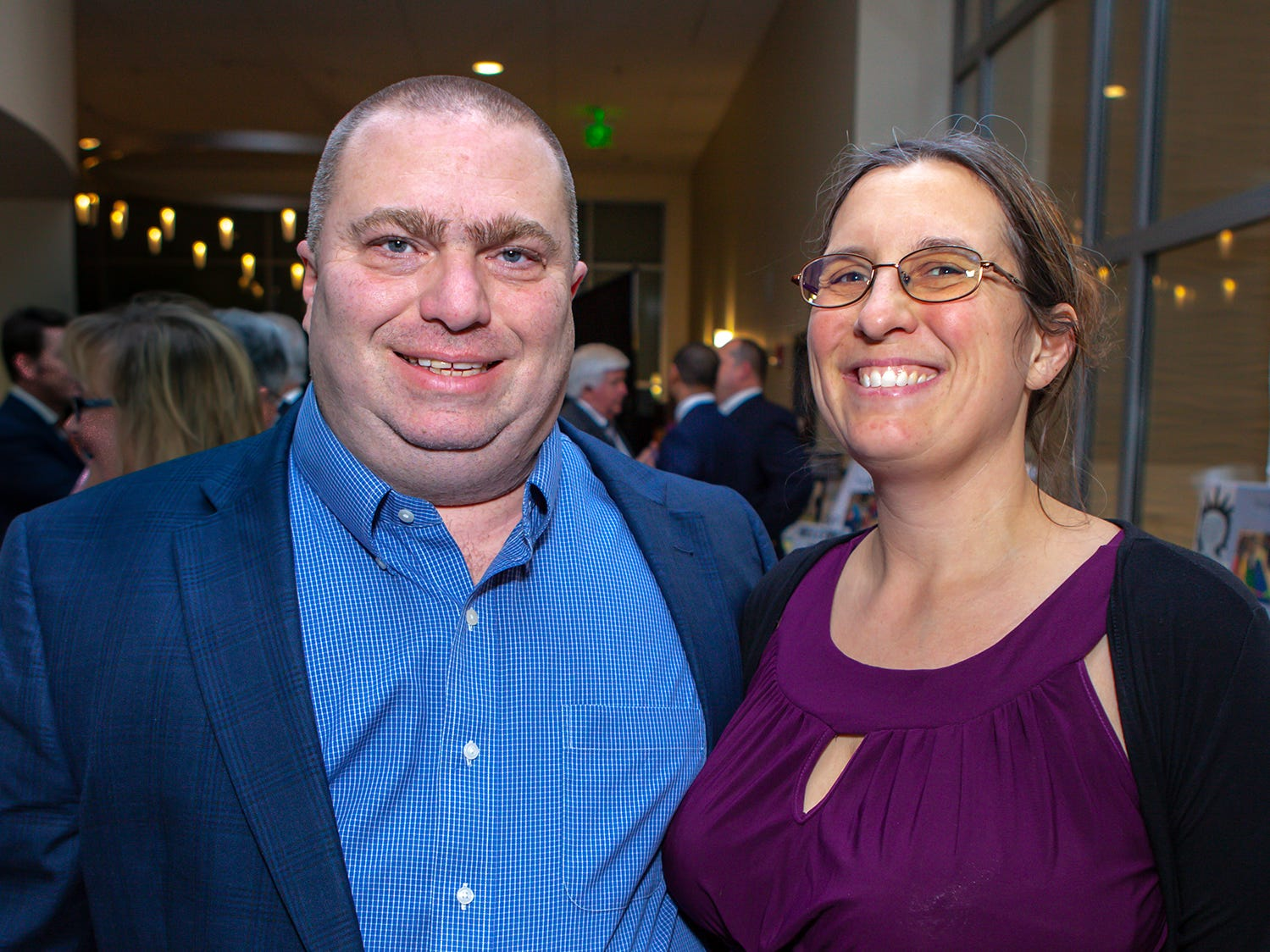 David and Maria Coggin  at the 2019 Excellence in Education Gala, hosted by the City Schools Foundation on Friday, Jan. 25, 2019 at Stones River Country Club in Murfreesboro.