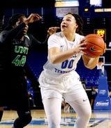 MTSU basketball forward Alex Johnson discusses her upcoming senior day