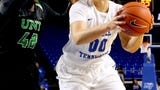 MTSU basketball forward Alex Johnson discusses her upcoming senior day