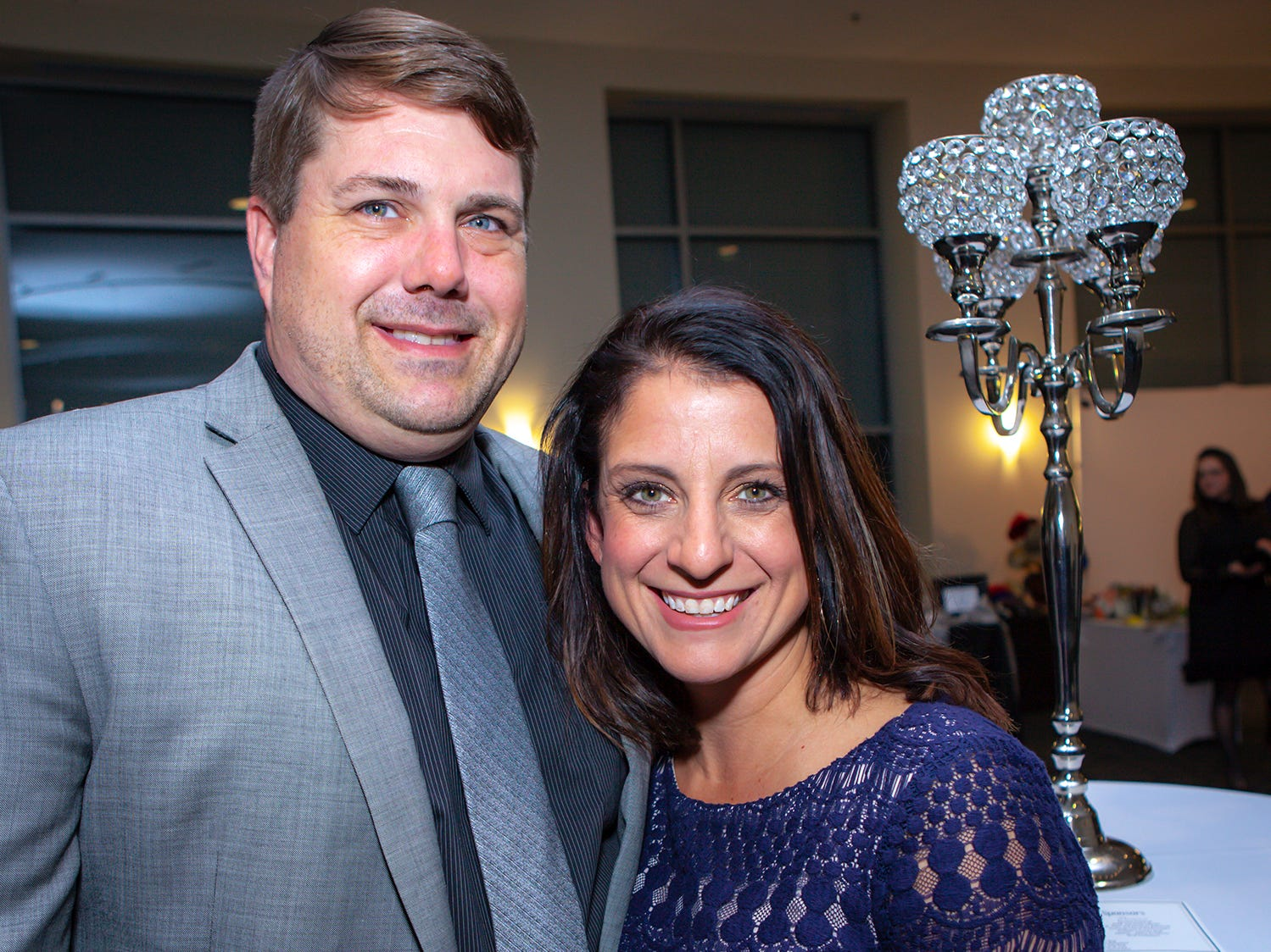 Ashton and Carrie Smith at the 2019 Excellence in Education Gala, hosted by the City Schools Foundation on Friday, Jan. 25, 2019 at Stones River Country Club in Murfreesboro.