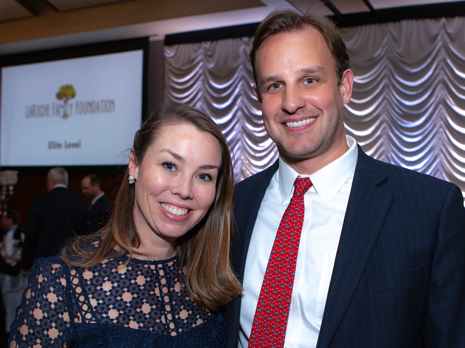 Gina and Grant DeJean at the 2019 Excellence in Education Gala, hosted by the City Schools Foundation on Friday, Jan. 25, 2019 at Stones River Country Club in Murfreesboro.