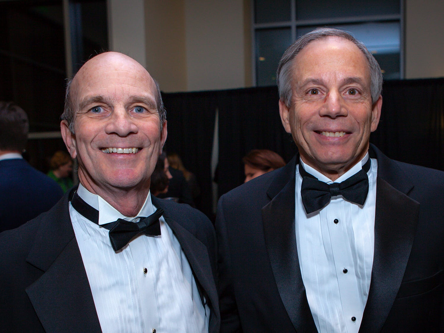 Ben Hall McFarland and John Harney at the 2019 Excellence in Education Gala, hosted by the City Schools Foundation on Friday, Jan. 25, 2019 at Stones River Country Club in Murfreesboro.