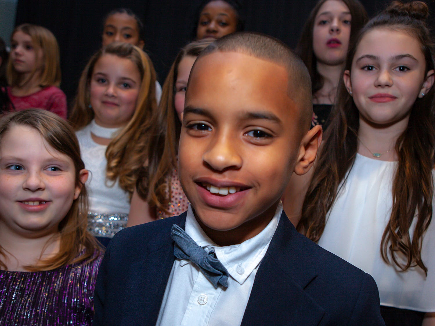 Brylan Odour, a fourth-grade student at Overall Creek Elementary, performed with the chouris at the 2019 Excellence in Education Gala, hosted by the City Schools Foundation on Friday, Jan. 25, 2019 at Stones River Country Club in Murfreesboro
