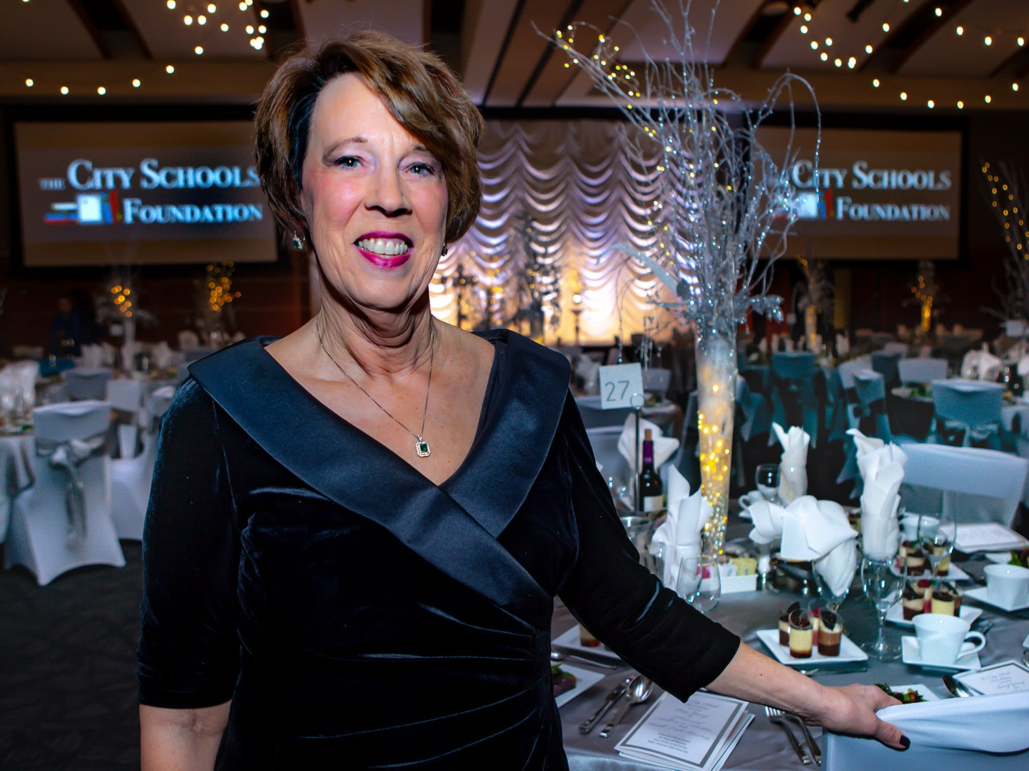 Sandra Parks at the 2019 Excellence in Education Gala, hosted by the City Schools Foundation on Friday, Jan. 25, 2019 at Stones River Country Club in Murfreesboro.