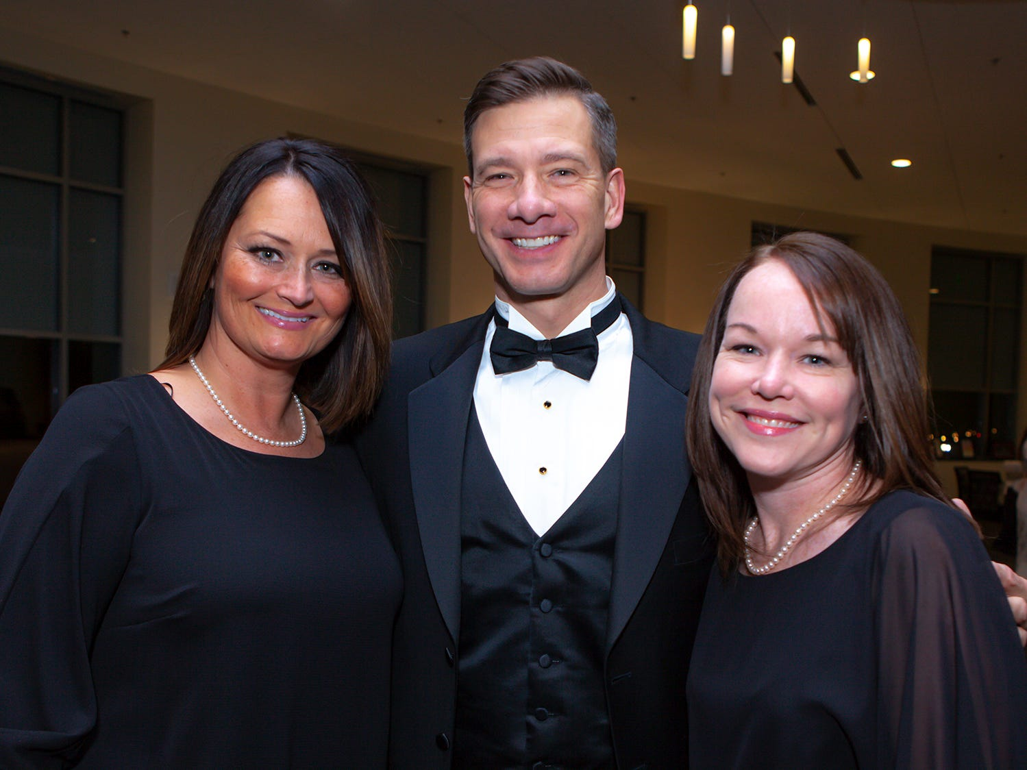 Cynthia and Ronnie Martin with Rita Myers at the 2019 Excellence in Education Gala, hosted by the City Schools Foundation on Friday, Jan. 25, 2019 at Stones River Country Club in Murfreesboro