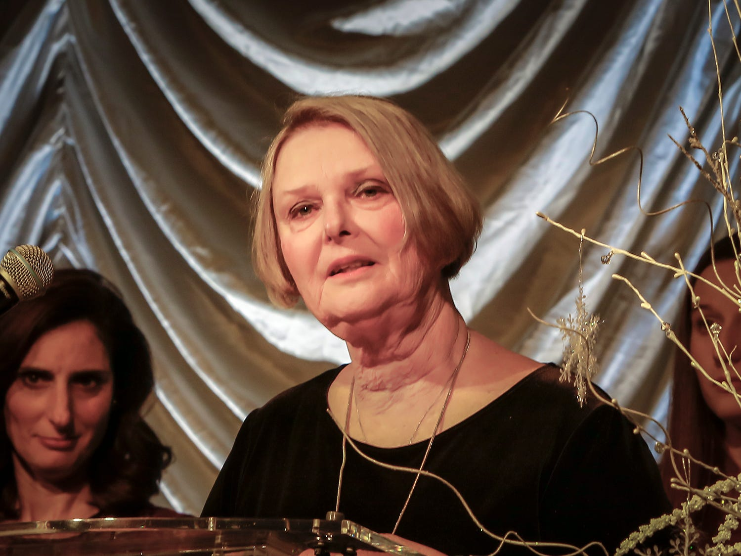 Susan Young speaks at the 2019 Excellence in Education Gala, hosted by the City Schools Foundation on Friday, Jan. 25, 2019 at Stones River Country Club in Murfreesboro. Her husband, Doug Young, was honored posthumously at the event.