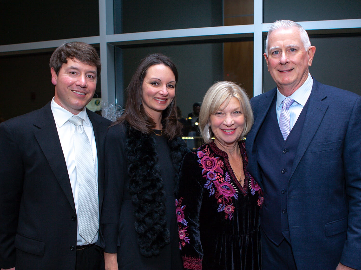Kevin and Amy Grisham with Zasa and Wes Ballard at the 2019 Excellence in Education Gala, hosted by the City Schools Foundation on Friday, Jan. 25, 2019 at Stones River Country Club in Murfreesboro.