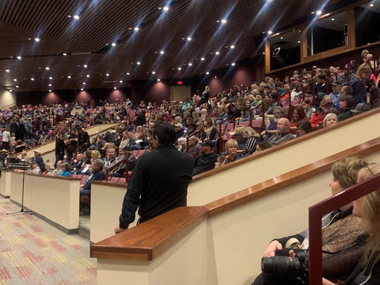 Seats filled up fast in the recently-renovated Farmington Civic Center as a crowd of 1,800 people waited for Farmington singer Chevel Shepherd to take the stage.