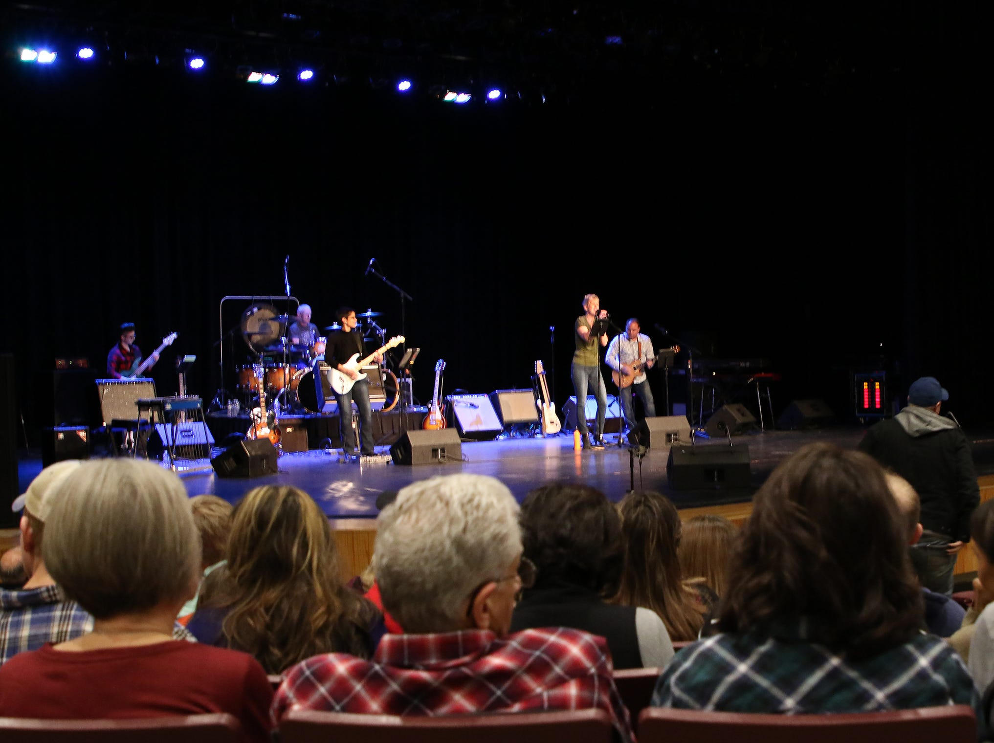 The band After Midnight opened the Chevel Shepherd concert Saturday in the Farmington Civic Center's auditorium.