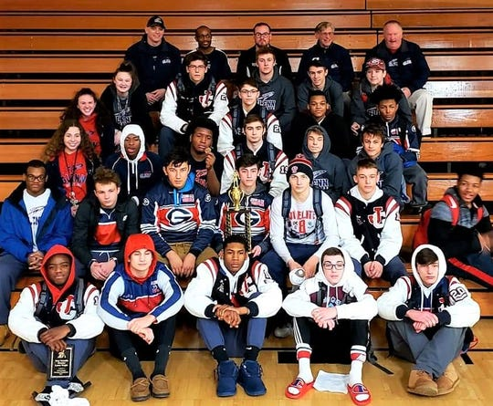 Westland John Glenn captured the Observerland Invitational with a team-best 268 points on Jan. 26 at Livonia Churchill.