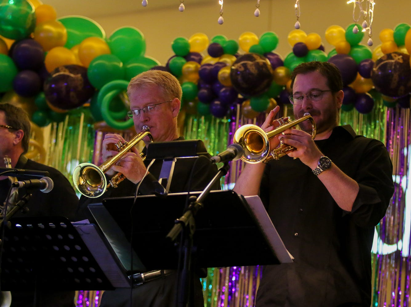 The Reunion Band performs during the 24th annual Cordova Mall Ball on Saturday, January 26, 2019. The event raises money for The Studer Family Children's Hospital at Sacred Heart.