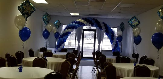 Mad About Balloons moved to a new space in the same Marysville business plaza on Gratiot Boulevard, but this time, its owner Francine Townsend also has a rental hall to boost business.
