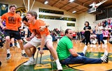 VIDEO: Musical Chairs at York Catholic's Battle of the Buildings