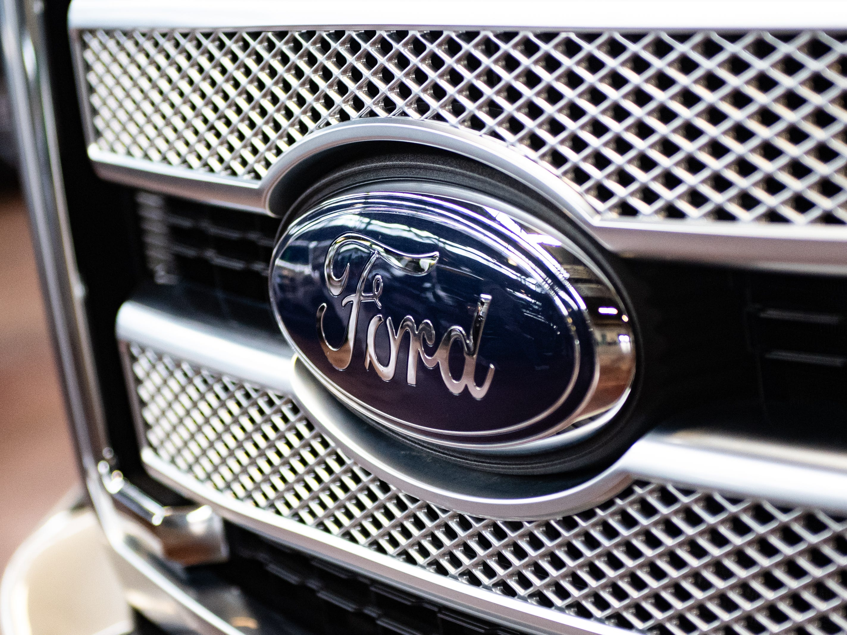 Ford is one of many car manufacturers that brought their vehicles to the show, Saturday, January 26, 2019. The auto show continues on Sunday from 10 a.m. to 5 p.m.