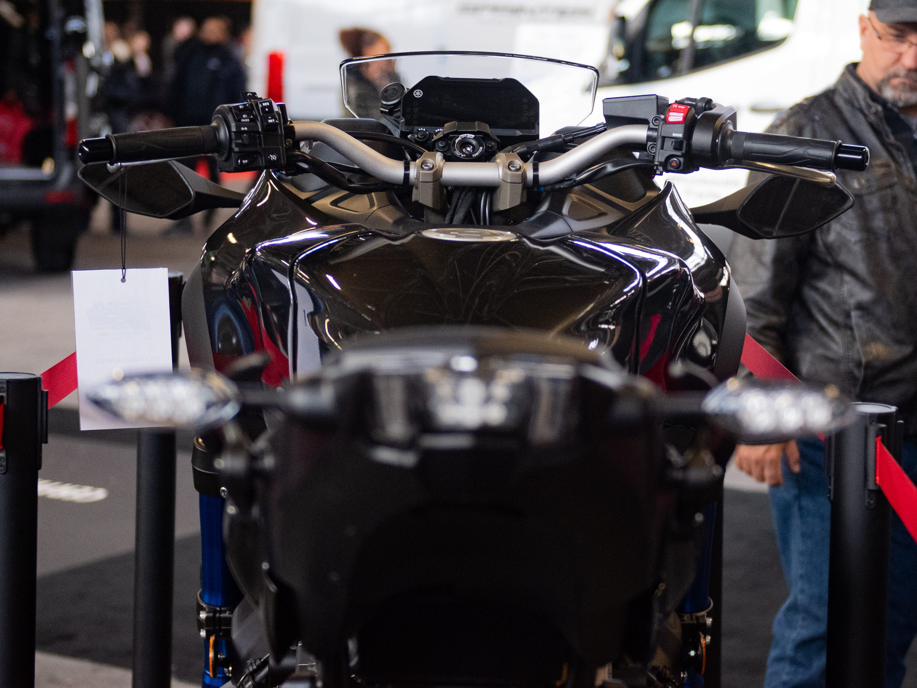 The 2019 Pennsylvania Auto Show has a section with motorcycles and dirt bikes, Saturday, January 26, 2019 at the Pennsylvania Farm Show Complex & Expo Center. The auto show continues on Sunday from 10 a.m. to 5 p.m.
