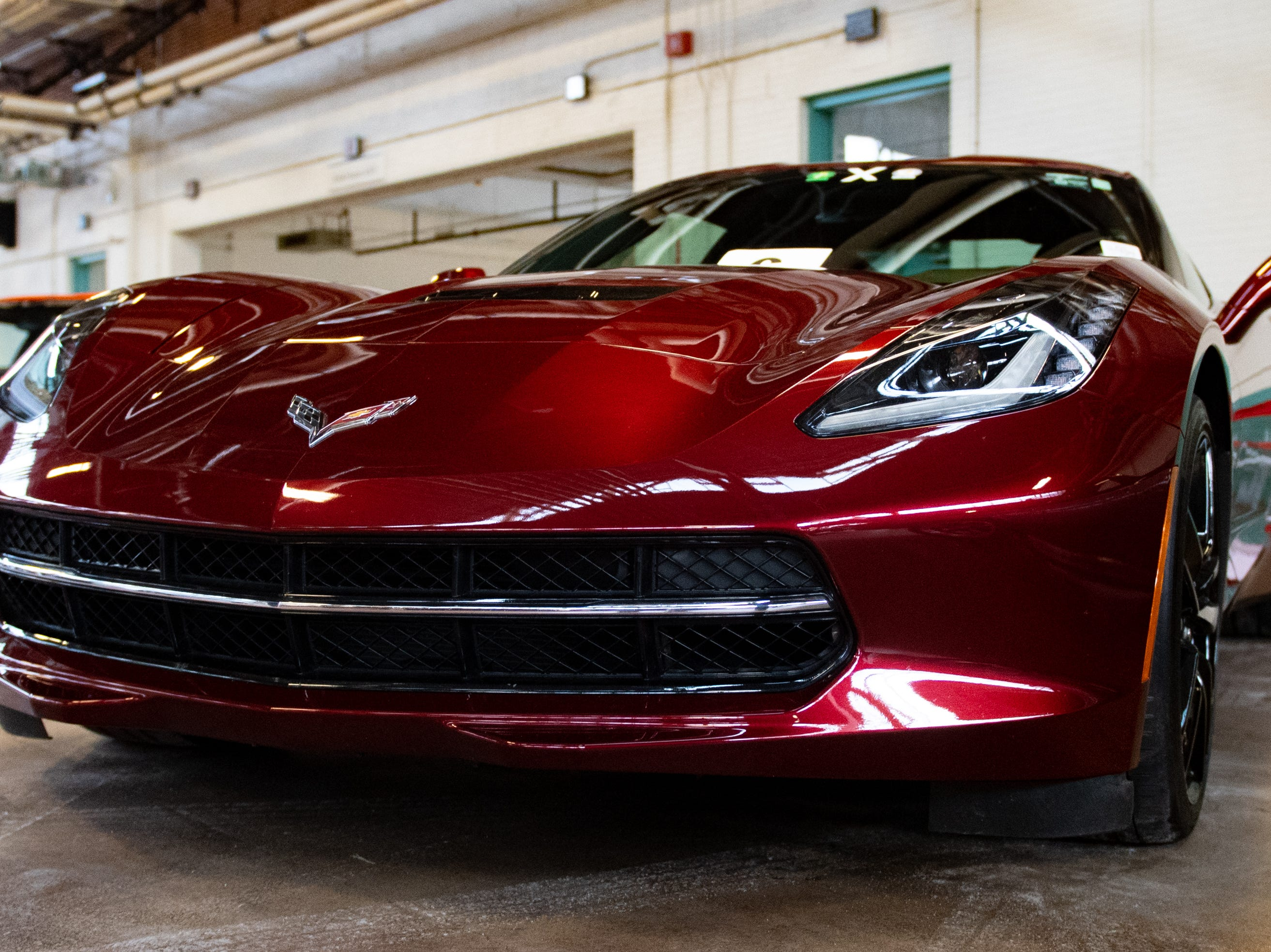 Pennsylvanians put their own cars on display during the auto show, Saturday, January 26, 2019. The auto show continues on Sunday from 10 a.m. to 5 p.m.