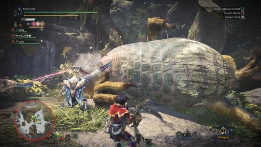 "The ""Greatest Jagras"" in Monster Hunter World."