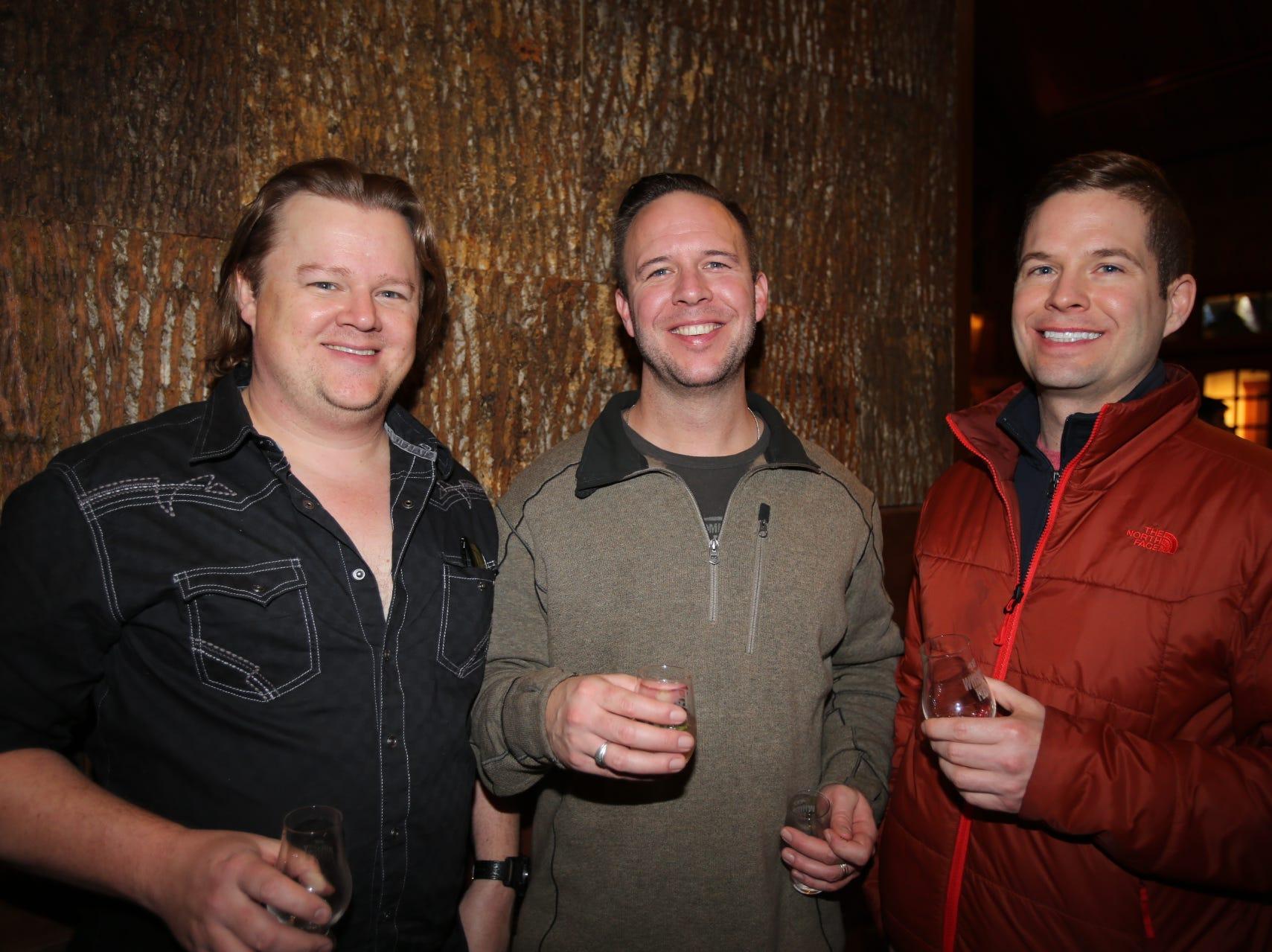 Ryan Norman, John Wittmer, and Brett Hronek