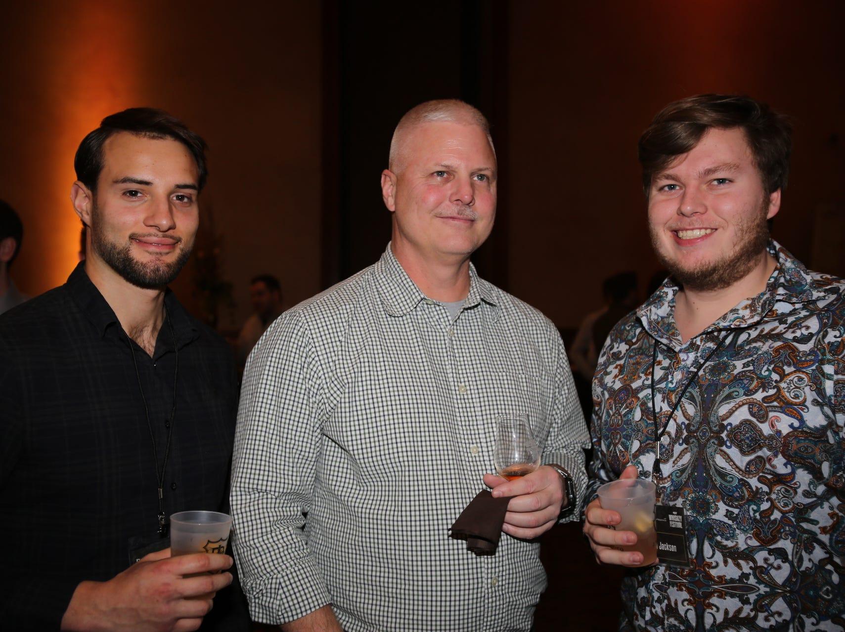 Zachary Lurvey, Mike Brown, and Austin Jackson