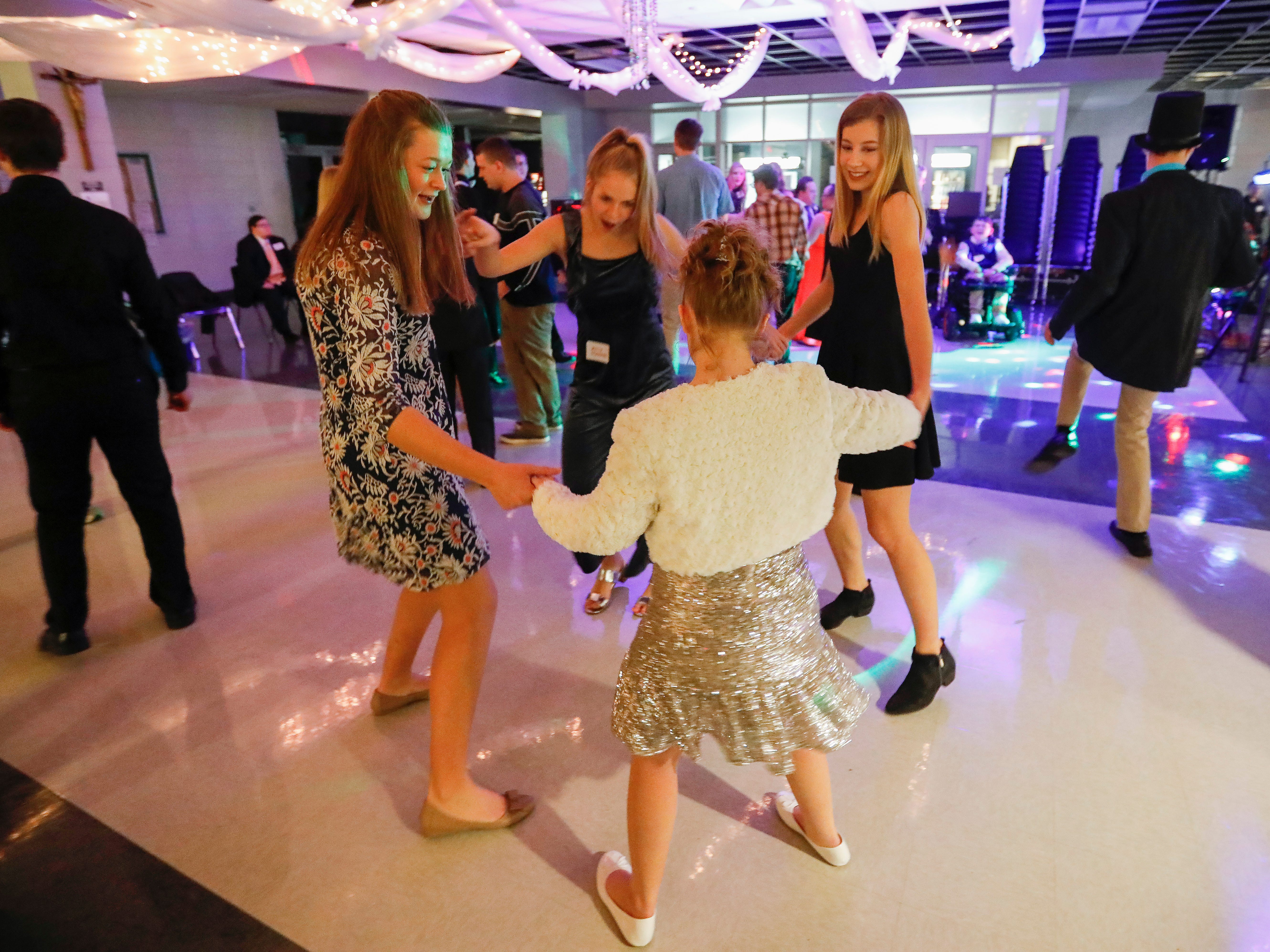 Scenes from the Camp Barnabas Snow Ball at Springfield Catholic High School on Saturday, Jan. 26, 2019.