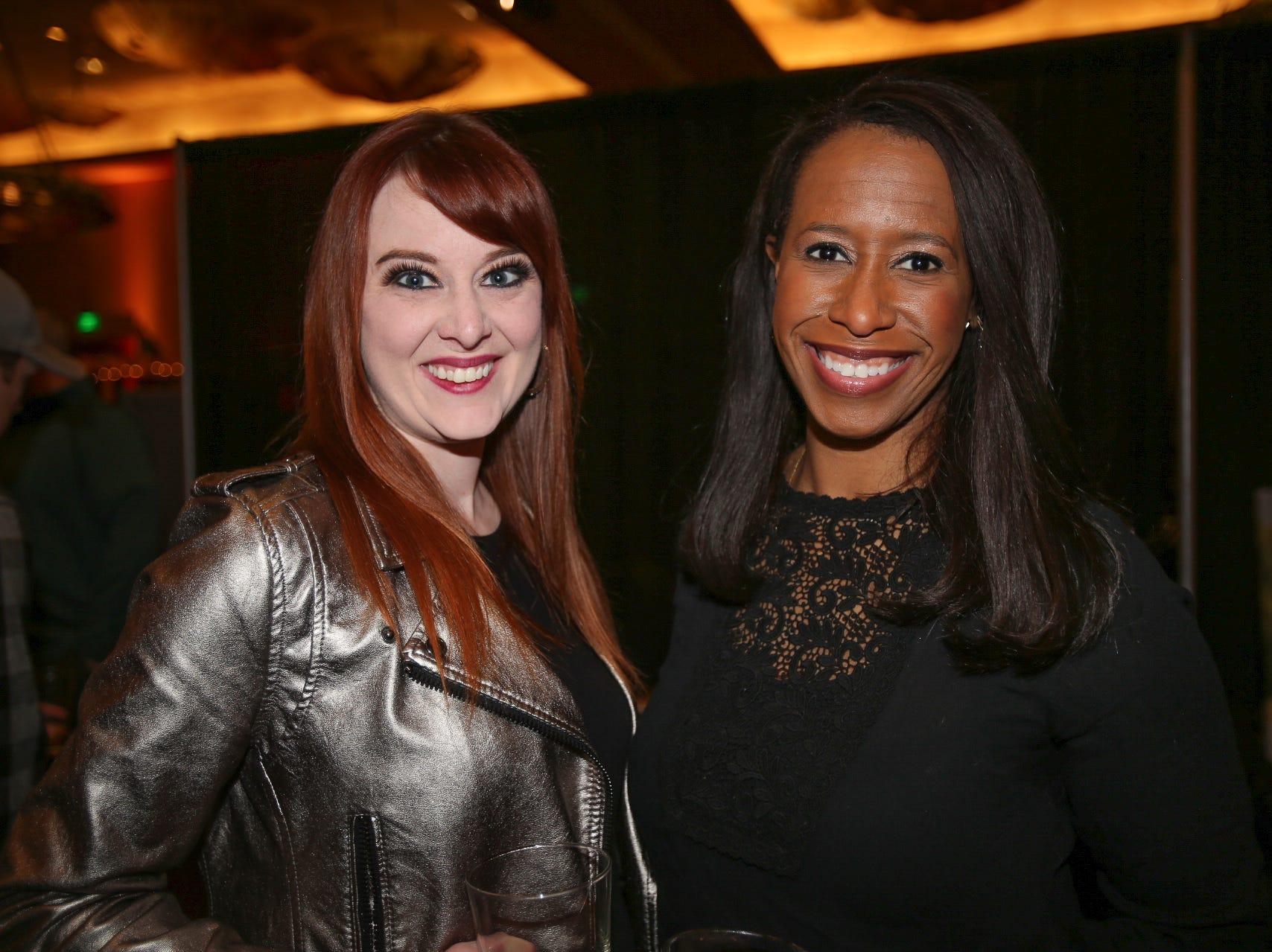 Amanda Diamond and Wendy Wallace