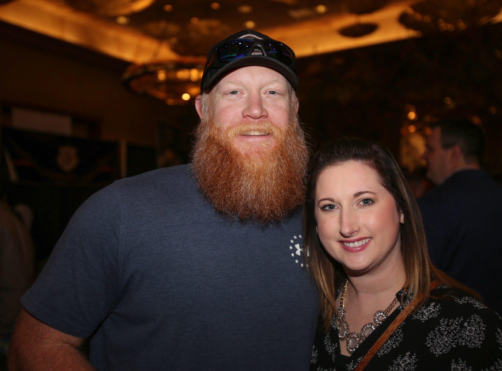 Chris and Amanda Boyce