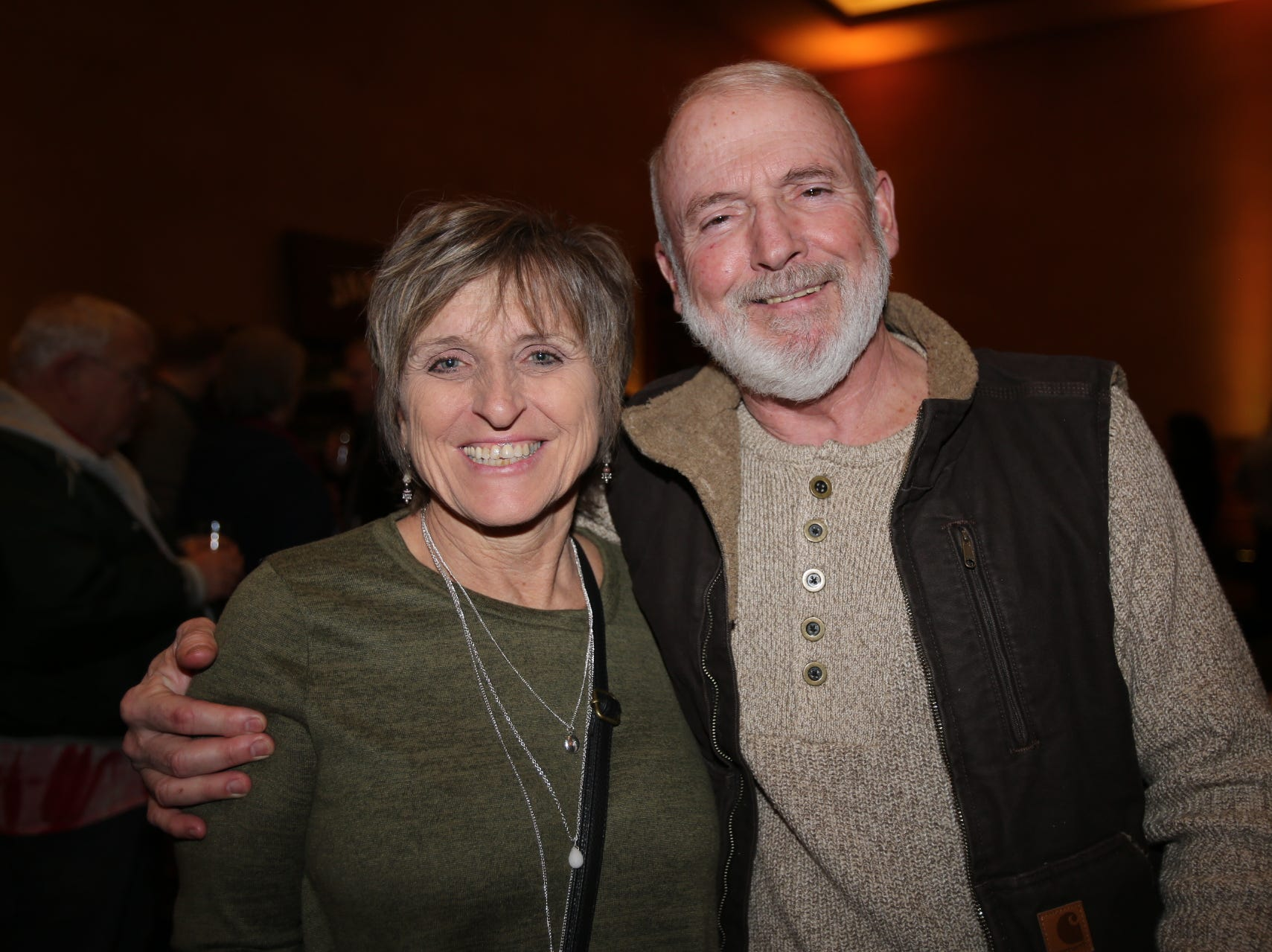 Judy McWilliams and Dan Earnest