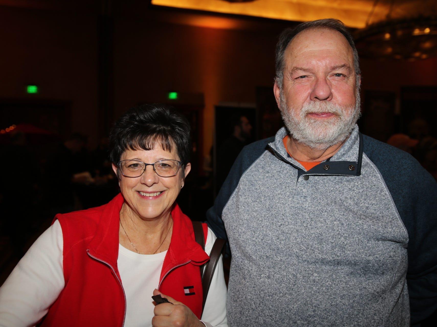 Denise and David Bohm