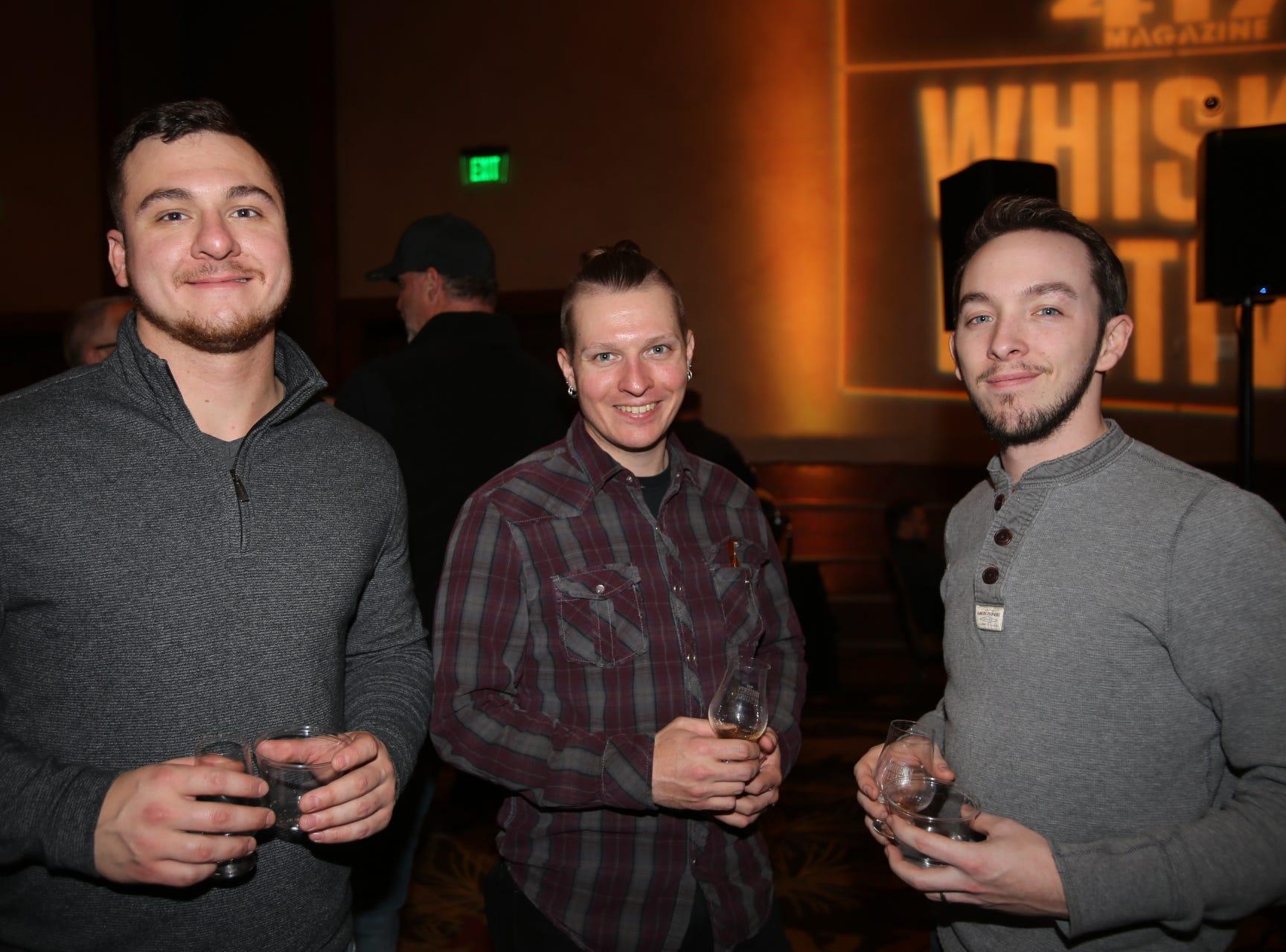 Joel Melchior, Michael Ruch, and Josh Yantis
