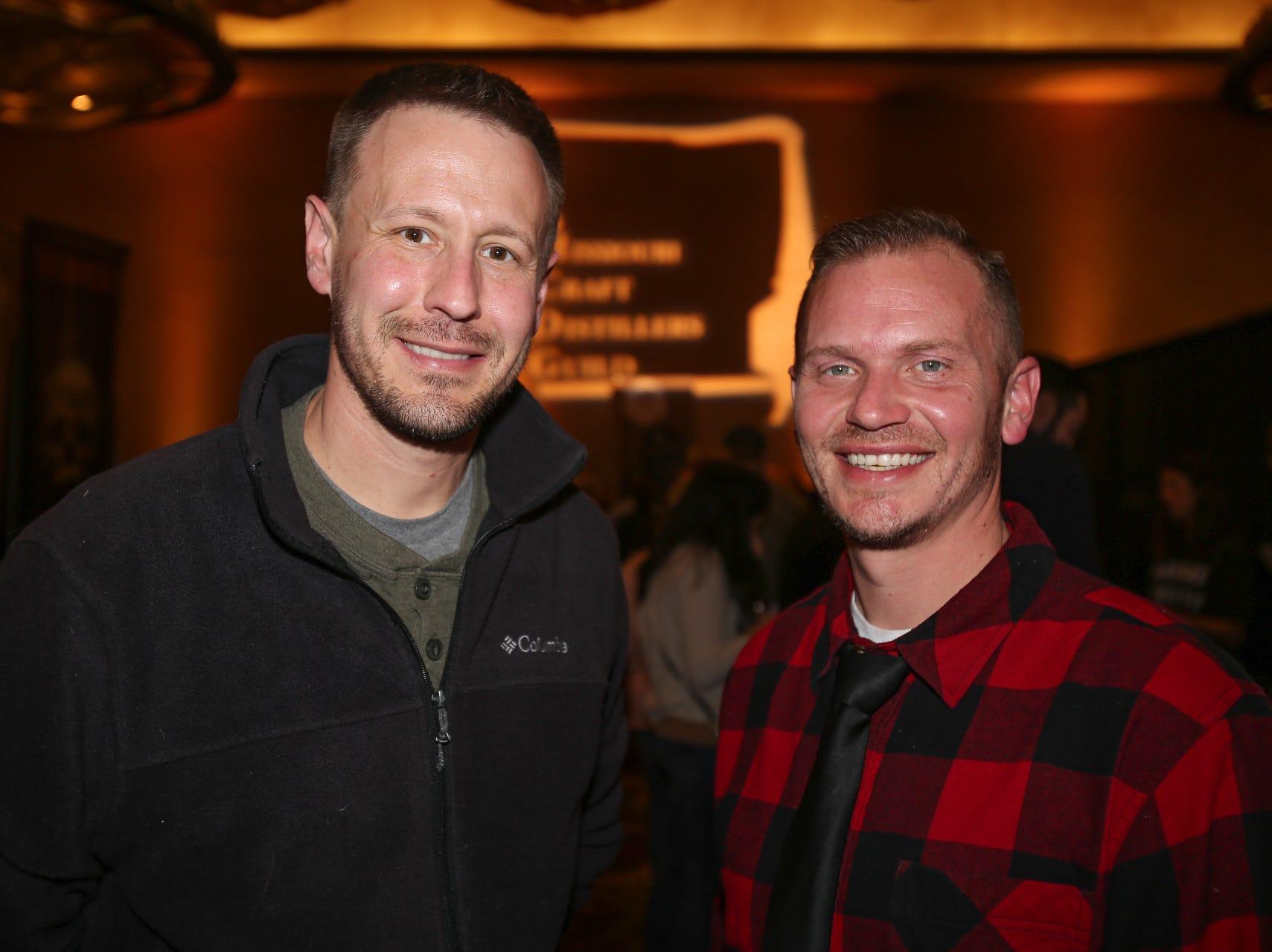 Brady Long and Chris Vandergriff