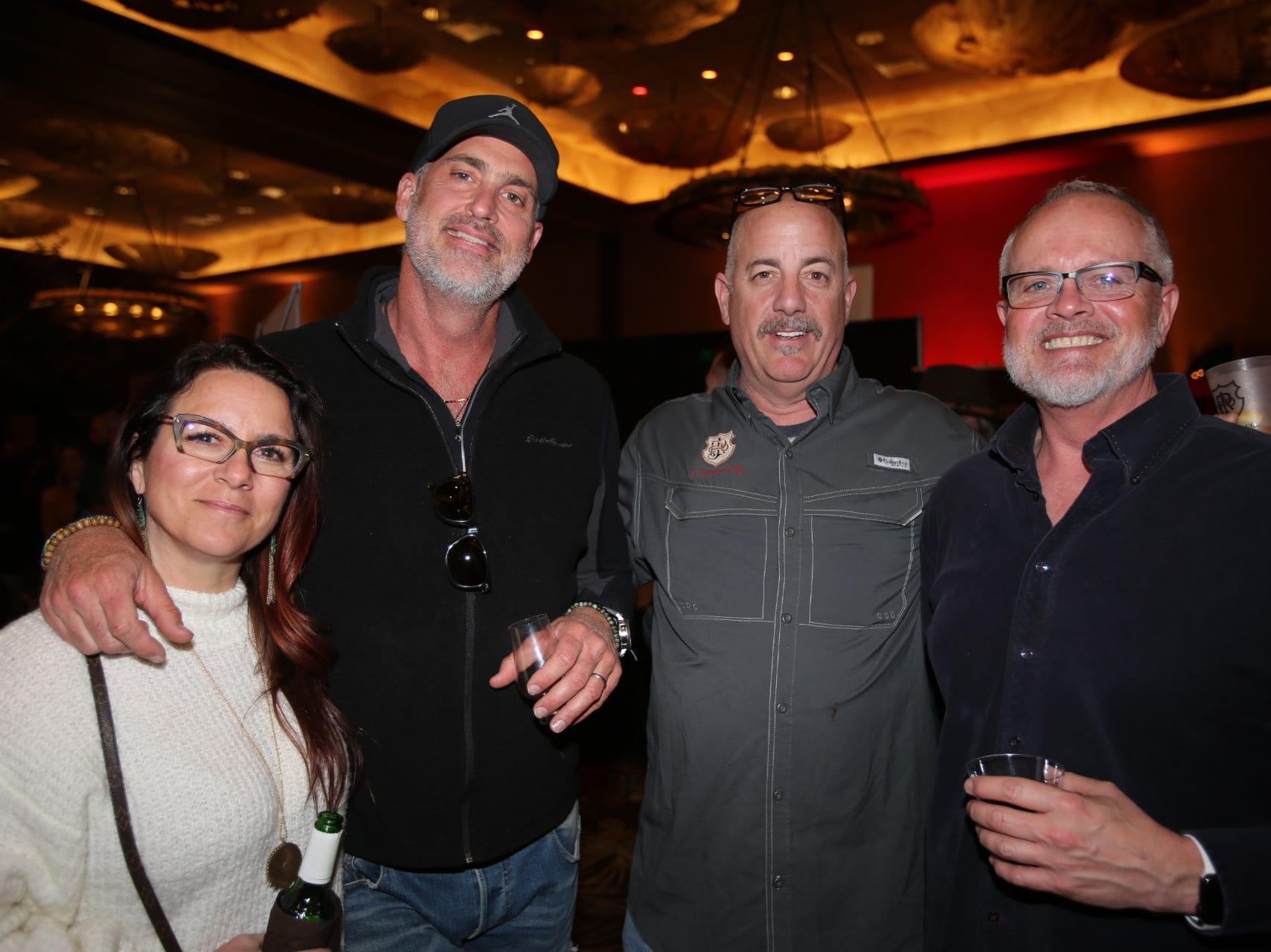 Teresa and Rob Turner, Matt Miller, and Pete Maxwell