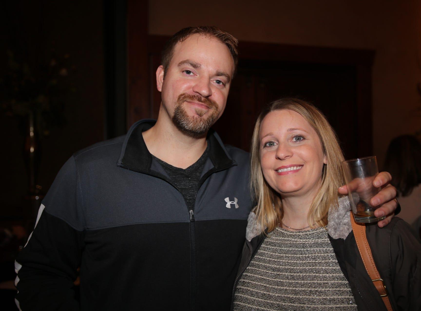 Darin and Amanda McGinty
