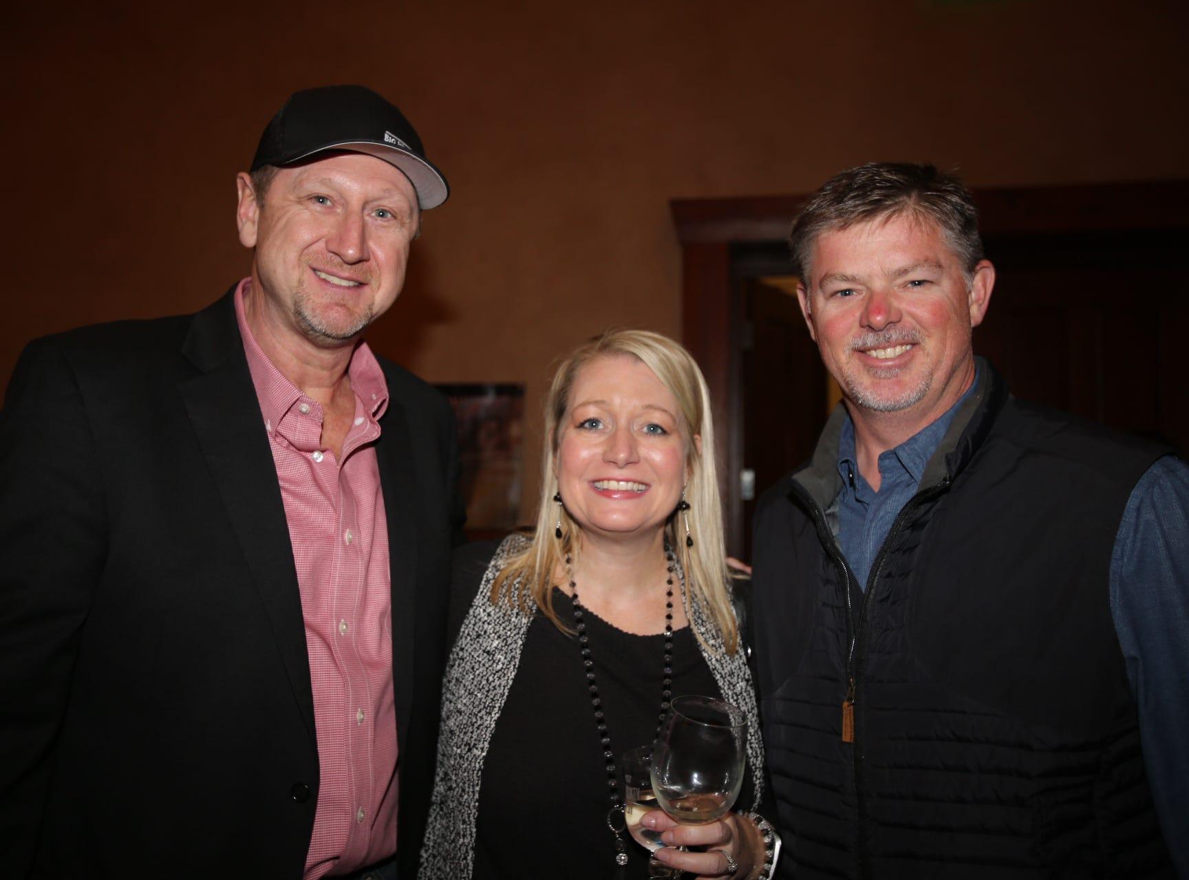 Kevin Sheffey, Jami Dressler, and Adam Pyle