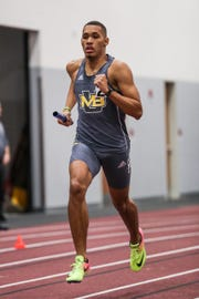 Greg Woodard, a Wilson Memorial graduate, is a freshman on the Mary Baldwin University track team this season.