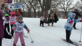 The cold never bothered them anyway! Kids ages 3 to 13 skied at the Sons of Norway Barnelopet Sunday afternoon at Riverside Park in St. Cloud.
