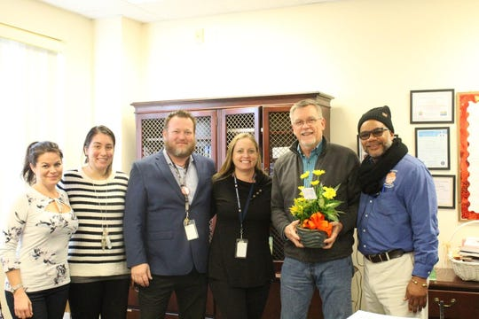 Doug Brown was chosen as Jefferson Somerset's Employee of the Year. Brown wears many hats and is Jefferson Somerset's Elementary Guidance Counselor.