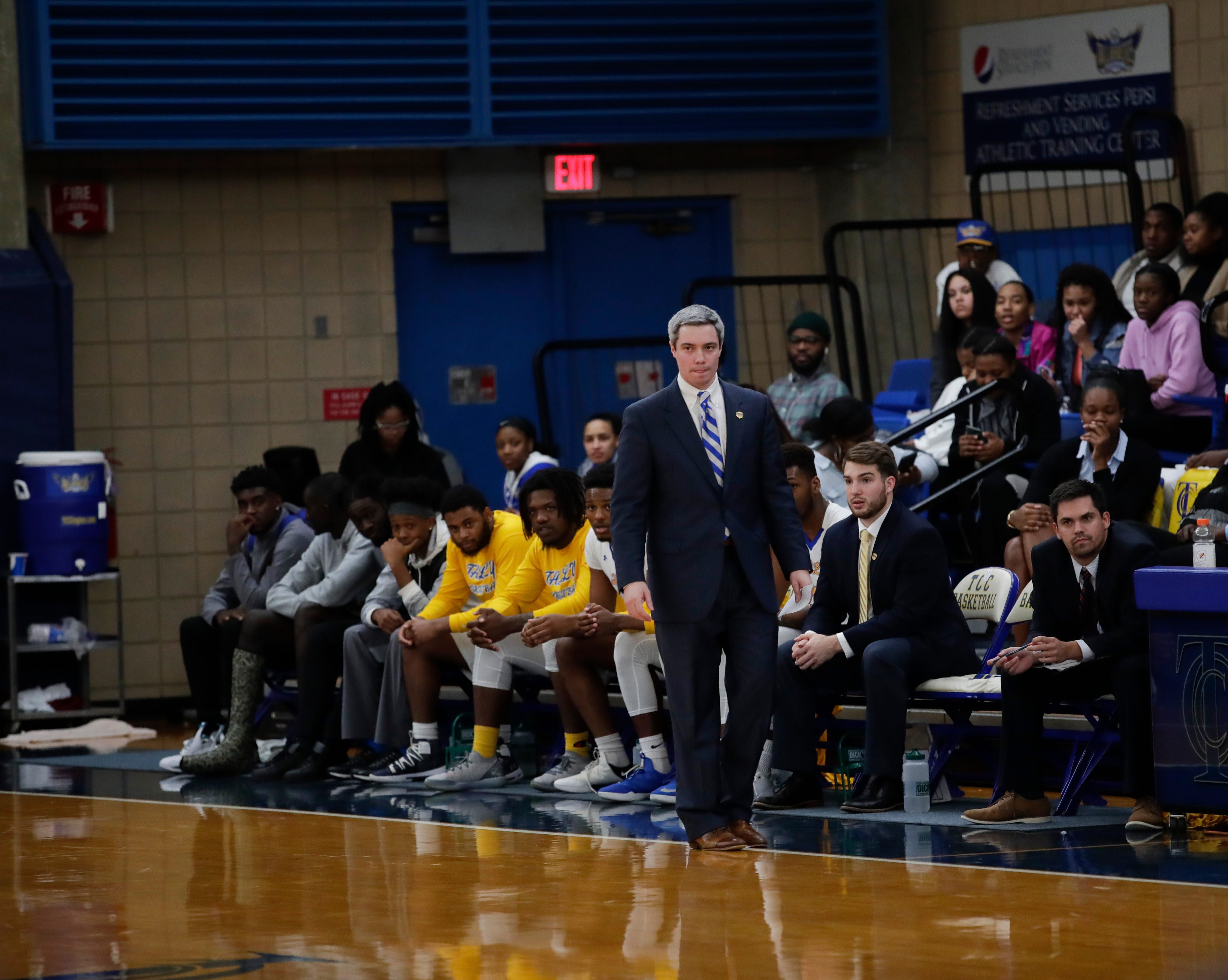 Tallahassee Community College named Zach Settembre as the head coach of the men's basketball program on March 26, 2019. Settembre served as interim coach since January.