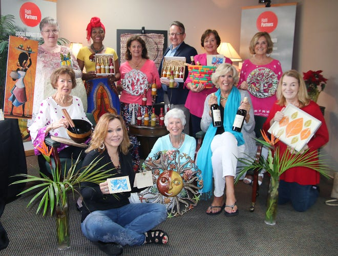 """""""Educate & Celebrate"""" Committee members, from left, back row, Diane Hauenstein, Merline Engle, Lisa Rose, John Engle, Linda Spencer and Artie Palermo; front row,Cathy LaCroix, Deb Appel, Jean Cravens, Jane Stansfield and Suzanne James."""