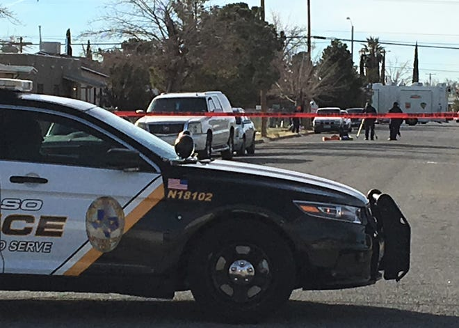 El Paso police investigate a fatal shooting in the 8800 block of Mount Whitney Drive.