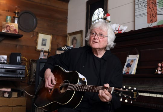 "Singer and songwriter Chip Taylor at home in Hartsdale Jan. 27, 2019. Taylor, who wrote ""Wild Thing"" and is a Songwriters Hall of Fame inductee, will be having an intimate concert at Philipstown Depot Theater on February 1."