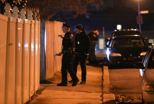 Three people were shot in Wilmington on Jan. 26.