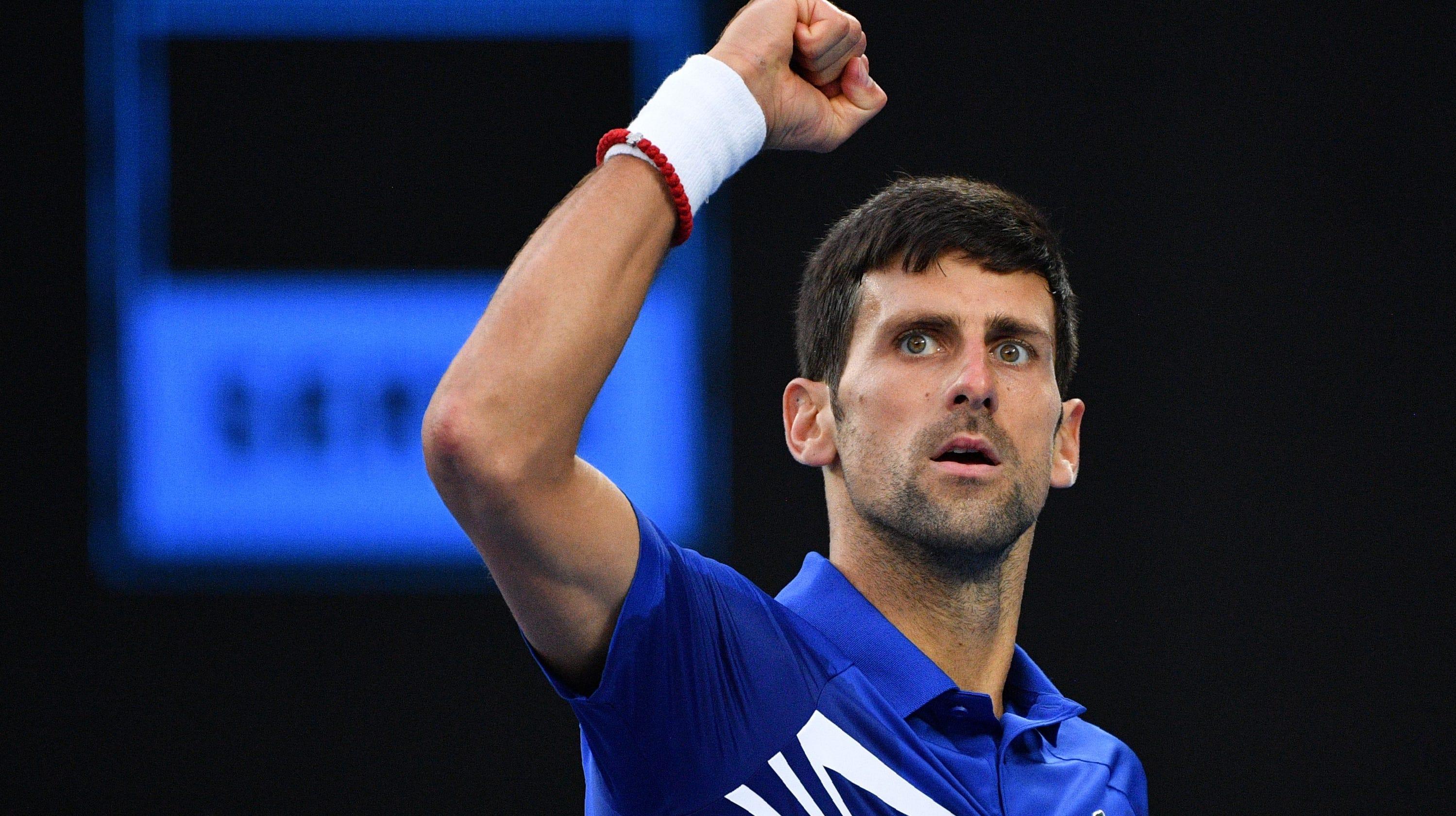 89ccc2ae24 Novak Djokovic crushes Rafael Nadal in straight sets for Australian Open  title