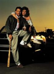 "Kevin Costner and Susan Sarandon in ""Bull Durham"""