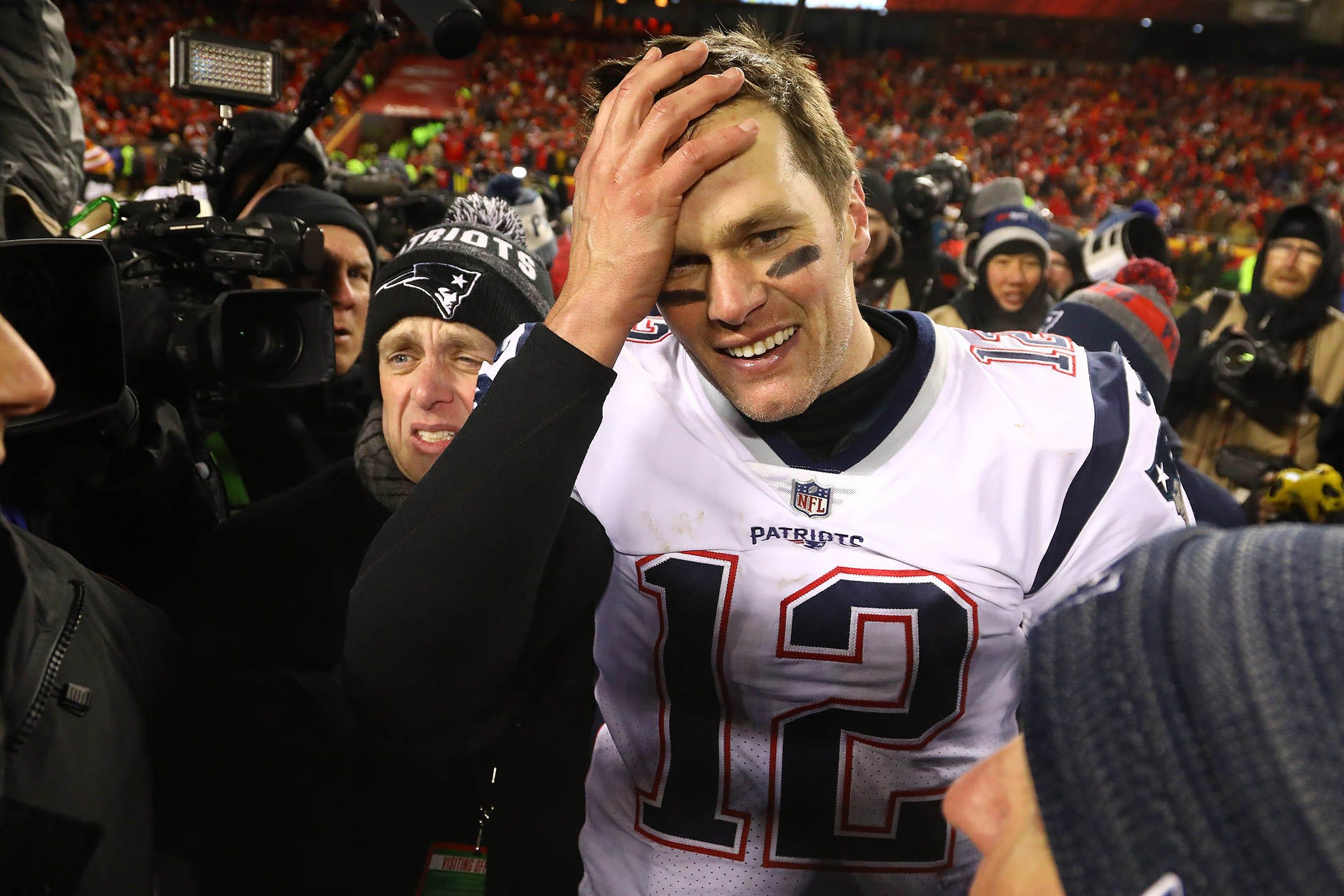 Tom Brady: 'Zero' chance I retire from NFL after Super Bowl