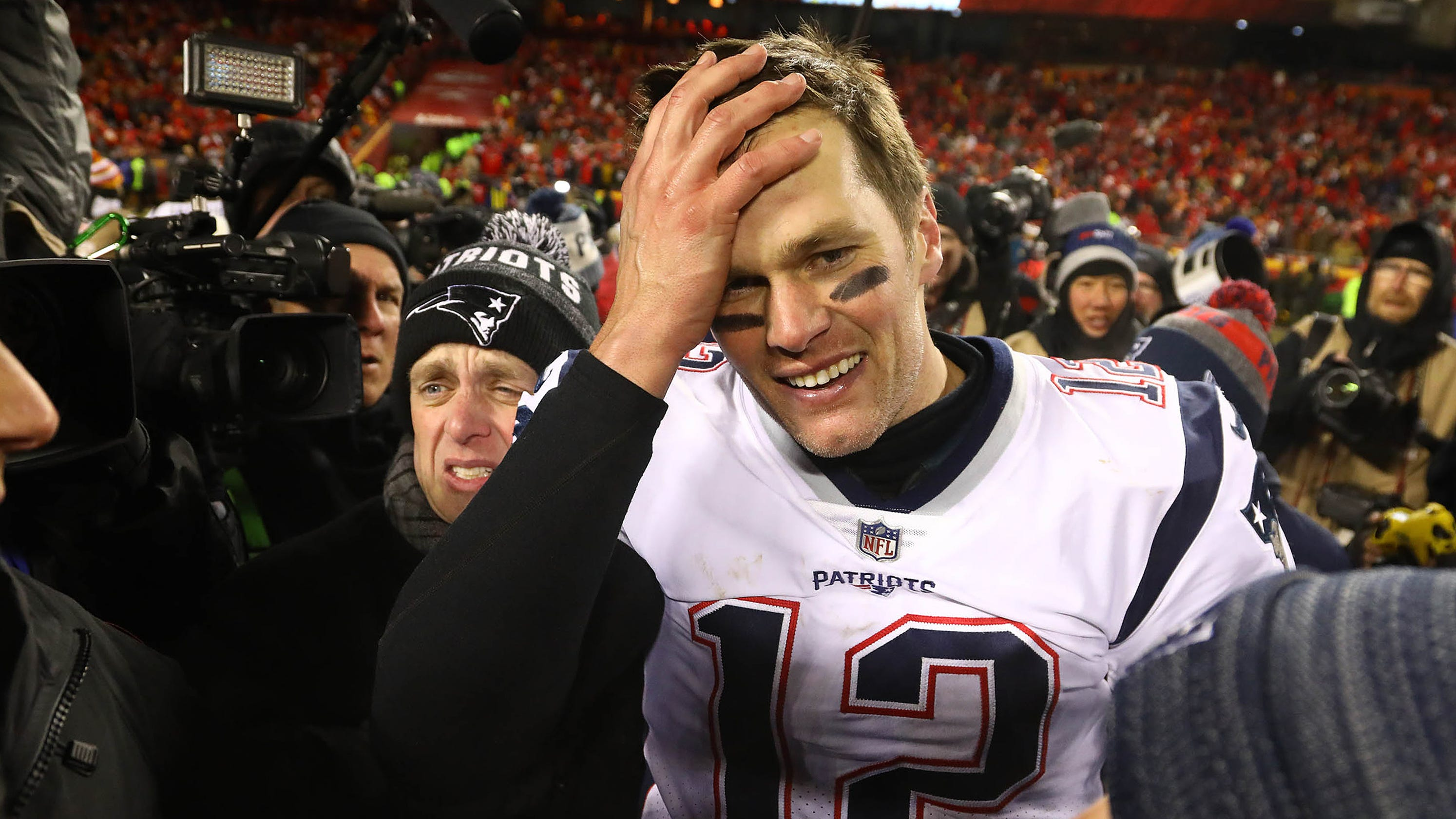 on sale f8780 f4d39 Super Bowl: Tom Brady says there's 'zero' chance he retires ...